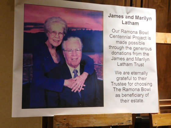 James and Marilyn Latham