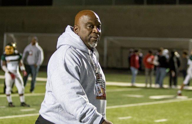Linfield Christian High School's head coach Dechon Burns