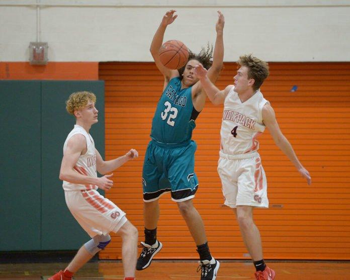 Great Oak High School basketball players