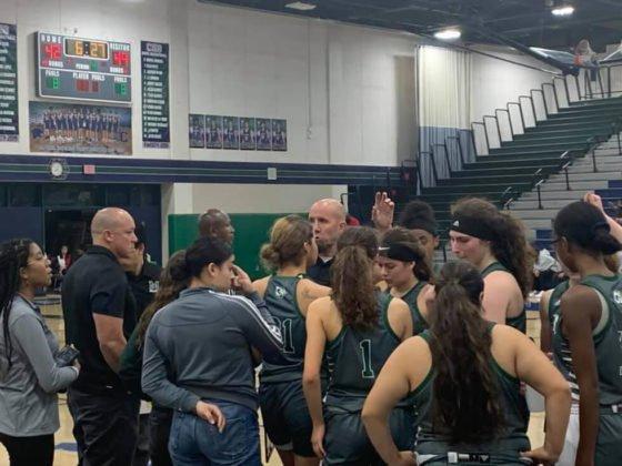 Murrieta Mesa High School Lady Rams basketball team