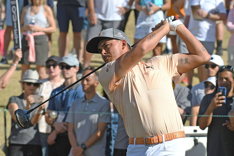 Golfer Rickie Fowler