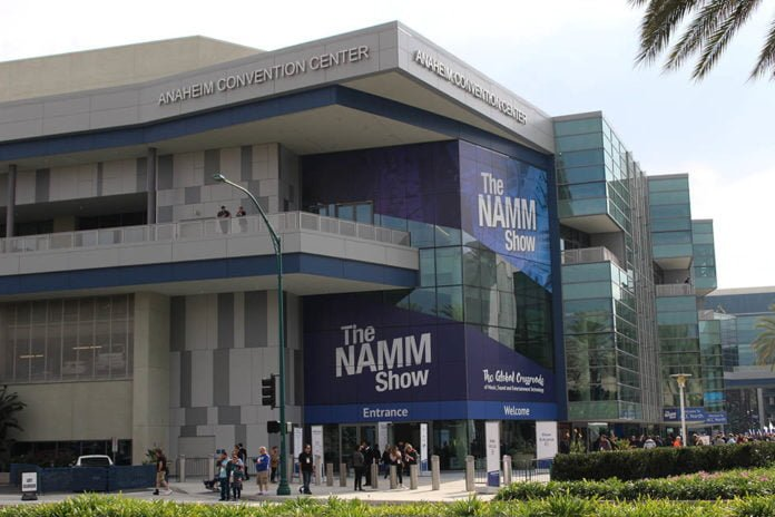 NAMM Show at Anaheim Convention Center