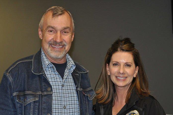 Mike Patke and Melissa Melendez