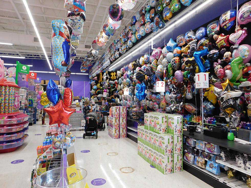 Party City store